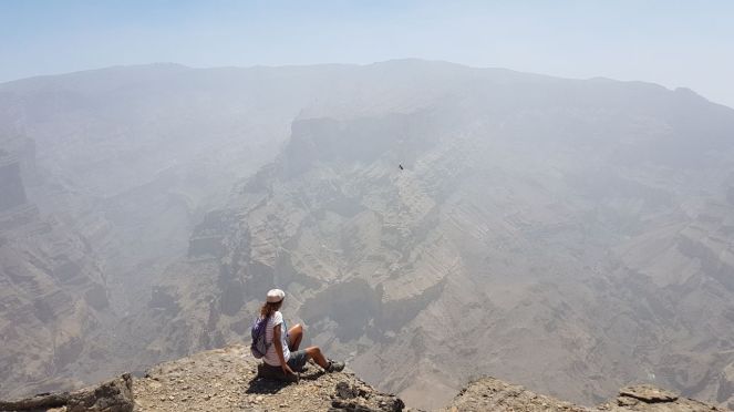 Jabal Shams hike