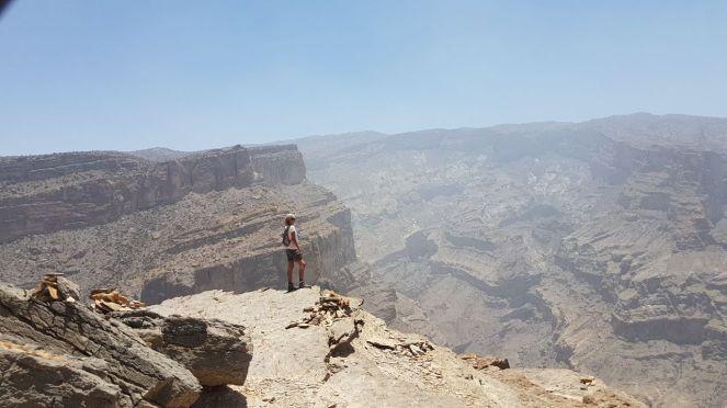 Uitzicht op Grand Canyon Oman